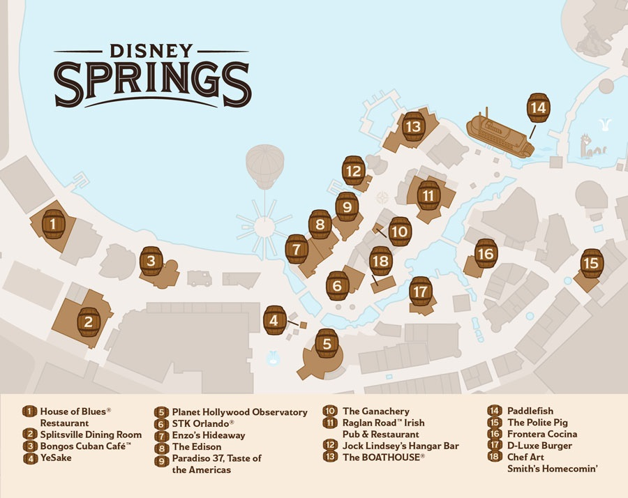 Disney Springs crawl
