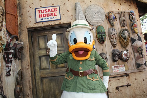 Donald Duck Tusker House