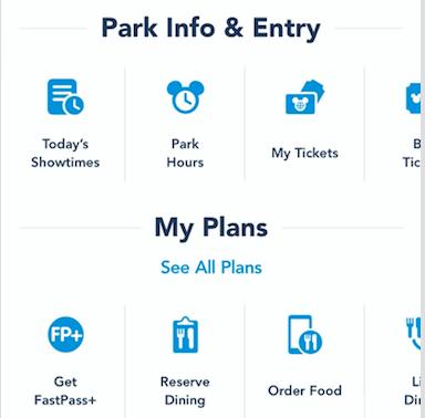 Fast Pass Park Info
