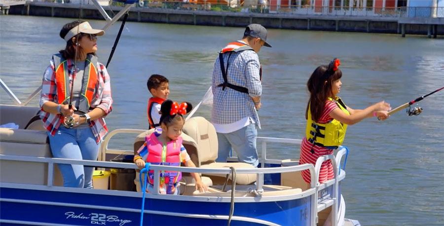 Fishing at Disney