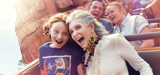 Grandparents at Disney
