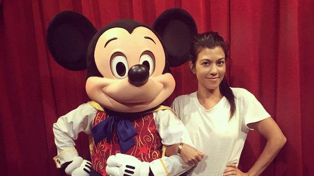 Kourtrney Kardashian Disney