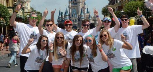 Teenagers at Disney