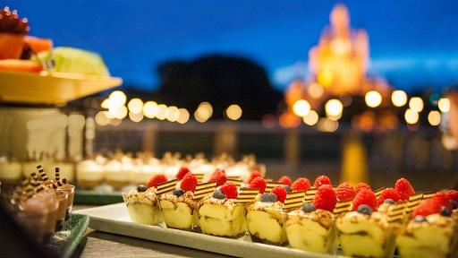 Fireworks desert party at Disney