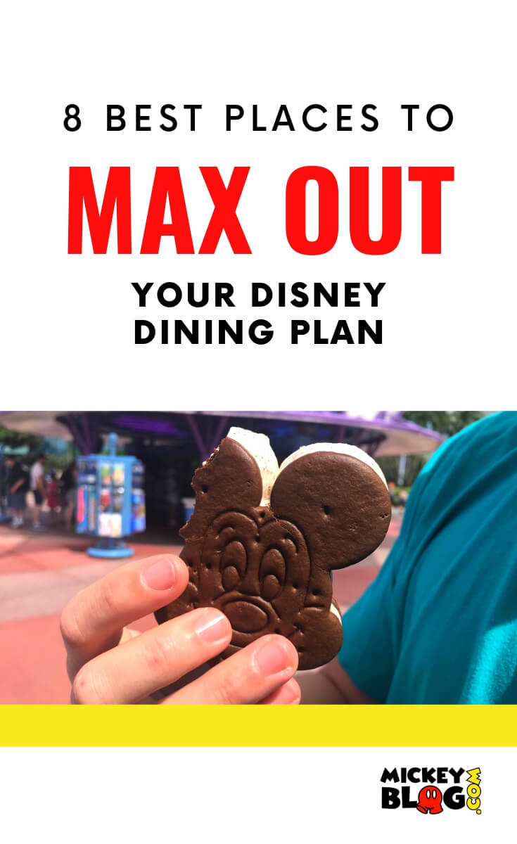 Best Places to Max Out Disney Dining Plan
