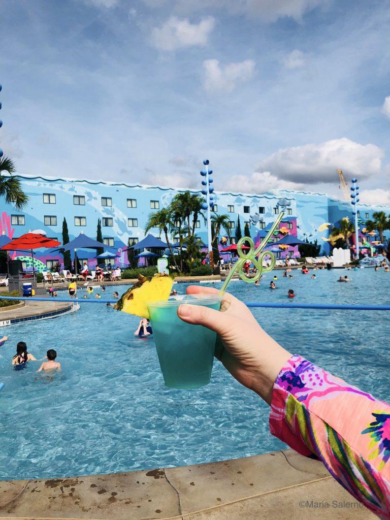 Big Blue Pool drink