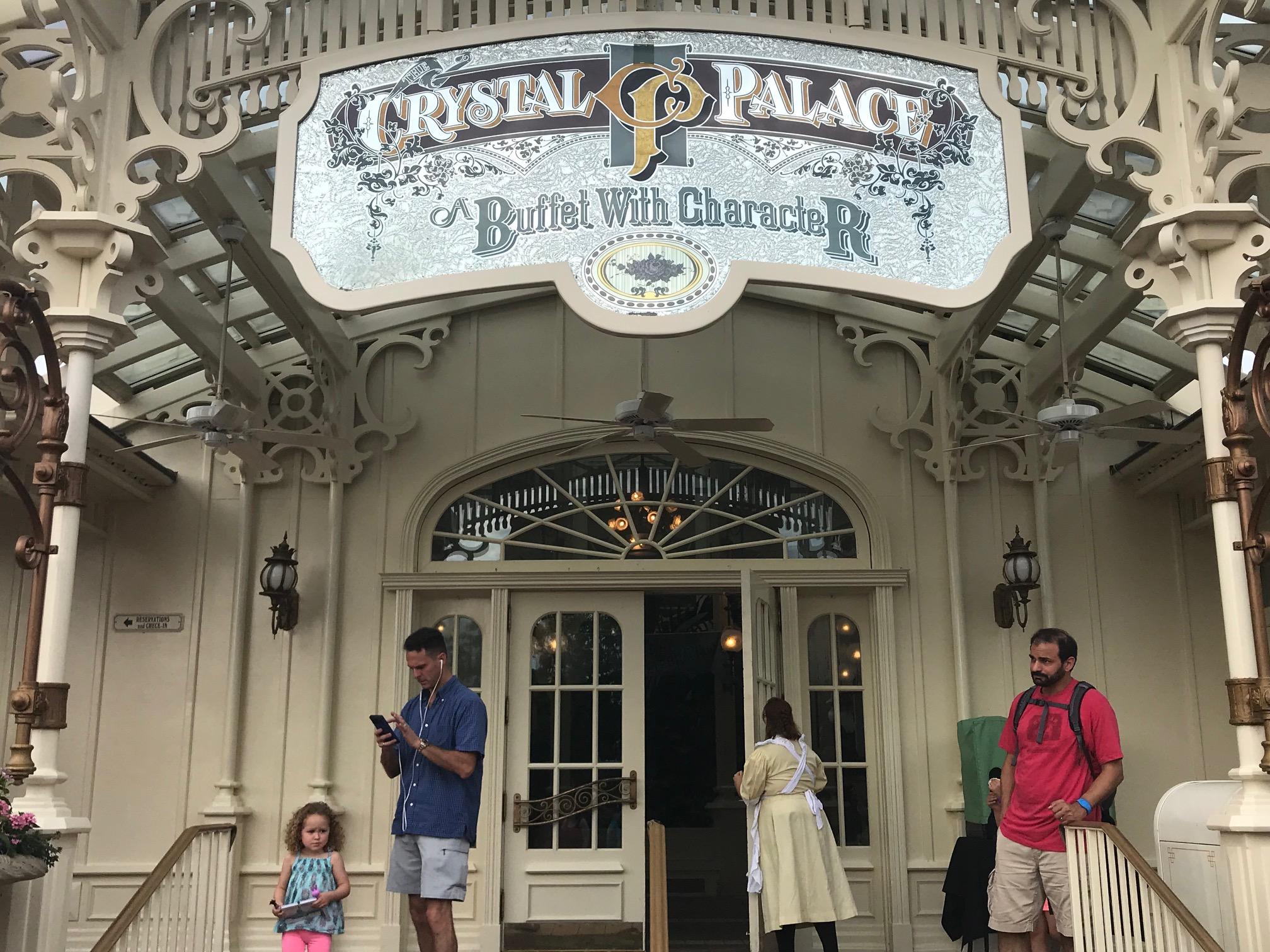 Crystal Palace menu