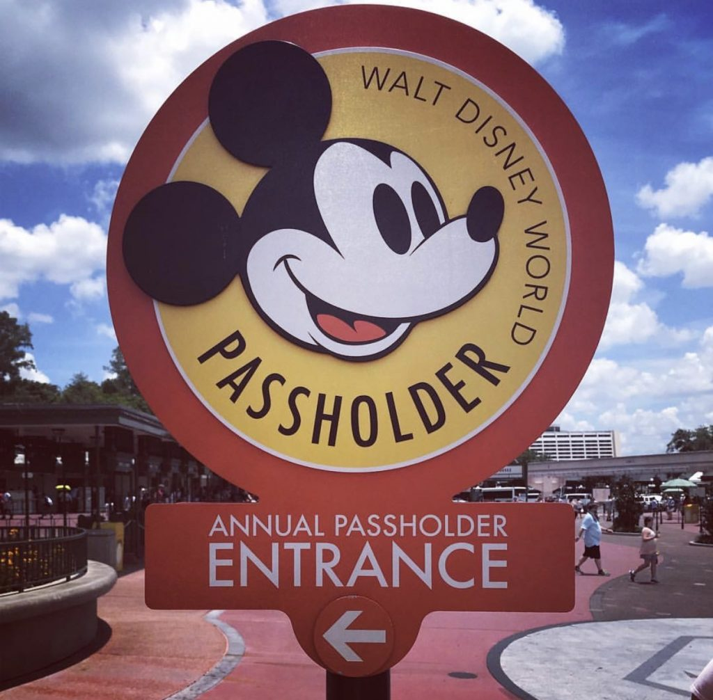 Disney's Annual Passholder