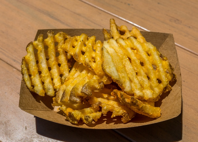 Disney waffle fries