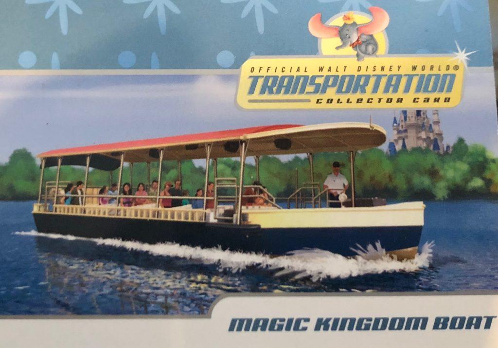 Disney World Collector Card