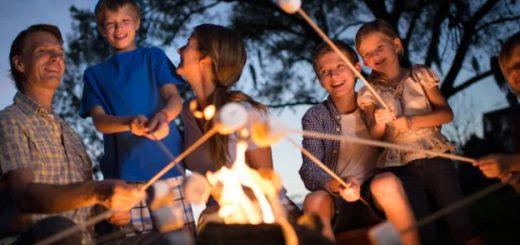 Disney marshmallow roasting