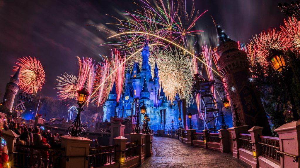 Nighttime shows at Walt Disney World