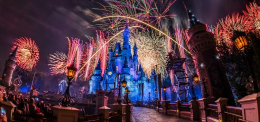 Nighttime shows at Walt Disney World