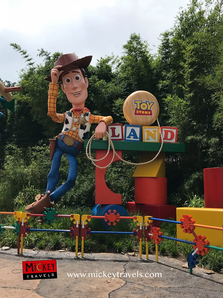 Toy Story Land Opening