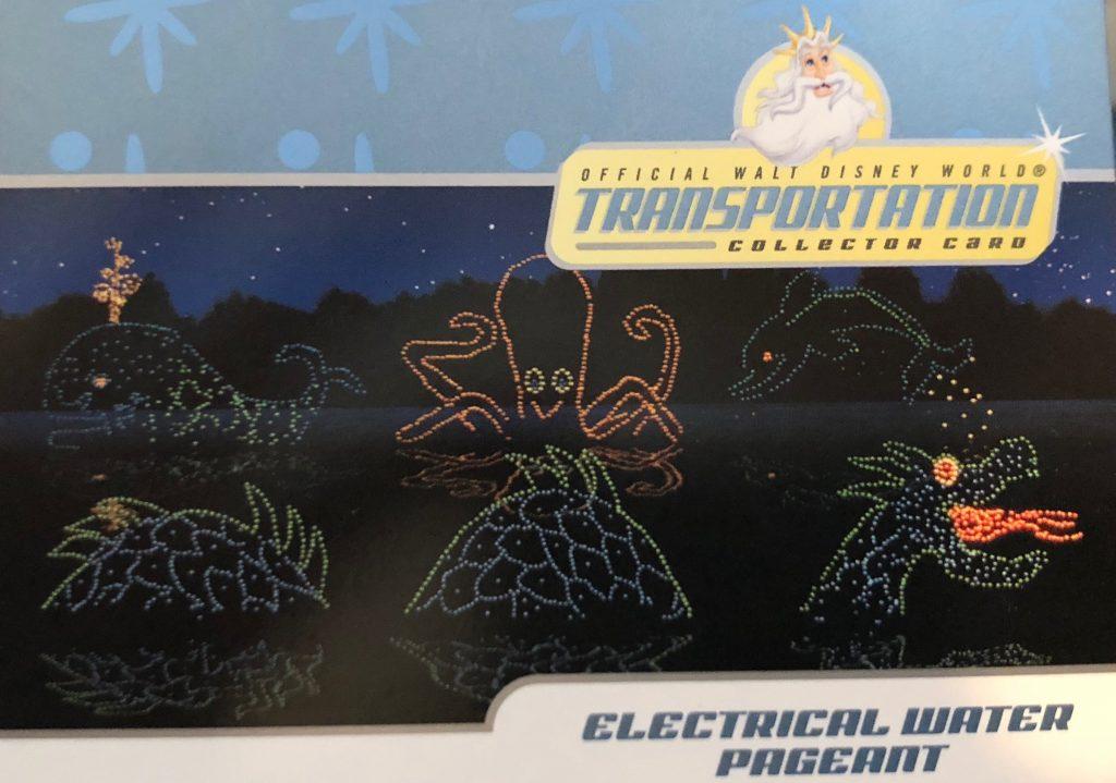 Disney World Transportation cards