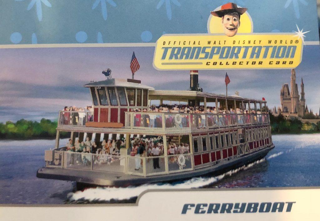 Walt Disney World transportation cards