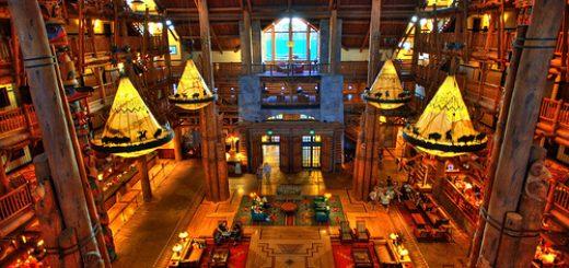 Wilderness Lodge lobby