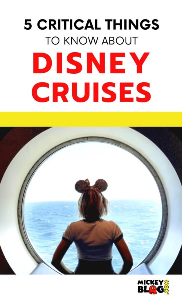 5 crucial things to know about Disney cruises