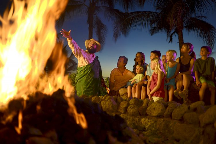 Aulani Fire Pit Storytelling