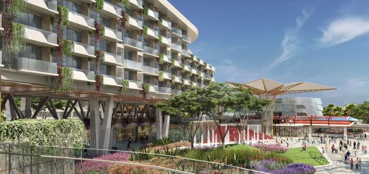 New Disneyland resort