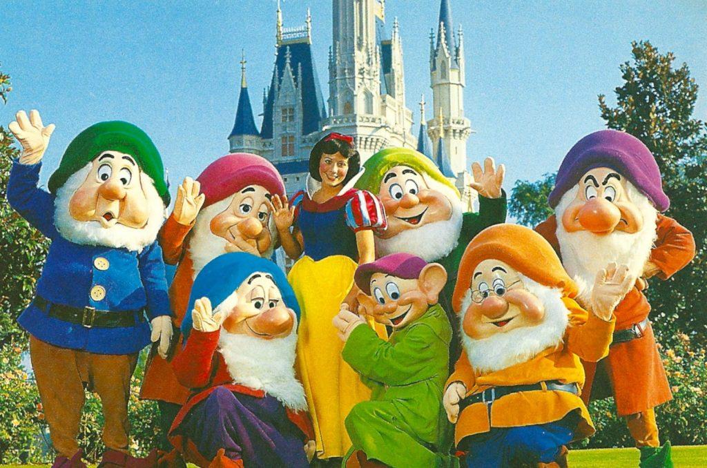 Snow White Seven Dwarfs Disney World