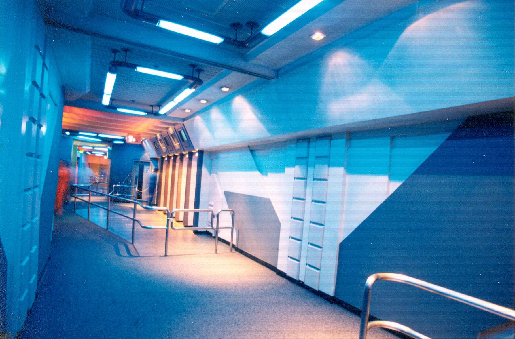 Star Tours Waiting Area