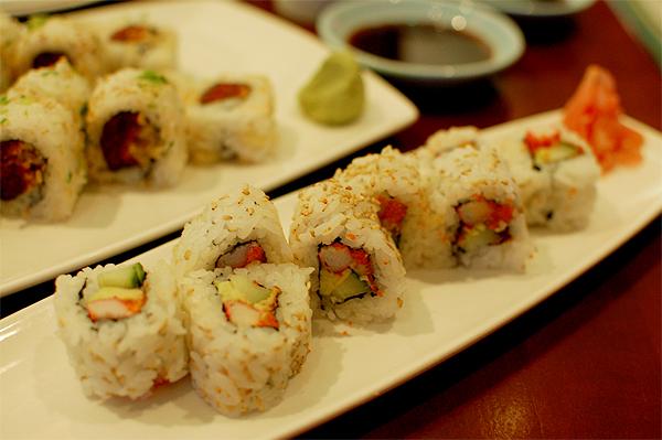 Sushi at Tokyo Dining