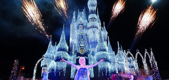 the magic of the disney world holiday decorations