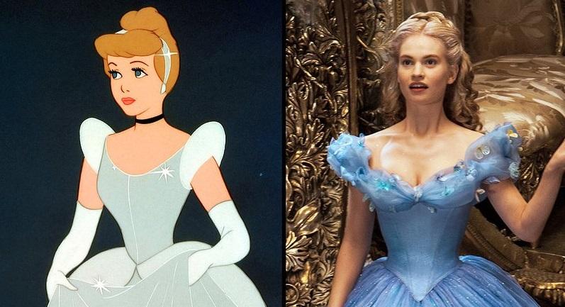 Cinderella 1950 Vs Cinderella 2015 Mickeyblog Com
