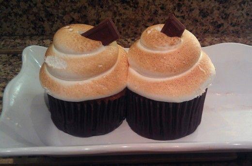 Disney s'mores cupcakes