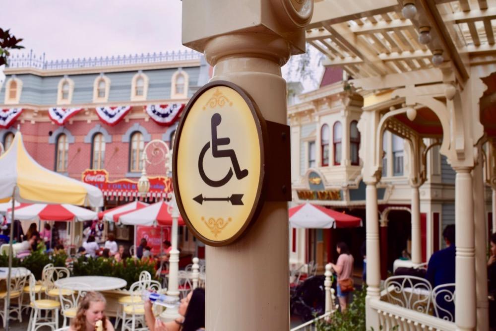 Disneyland Wheelchair access