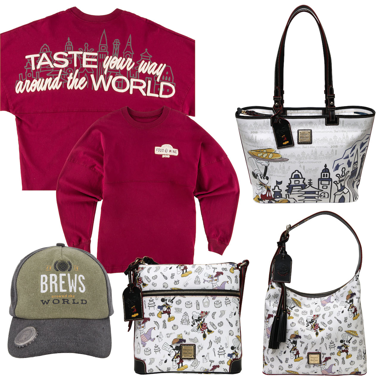 Food & Wine Merchandise