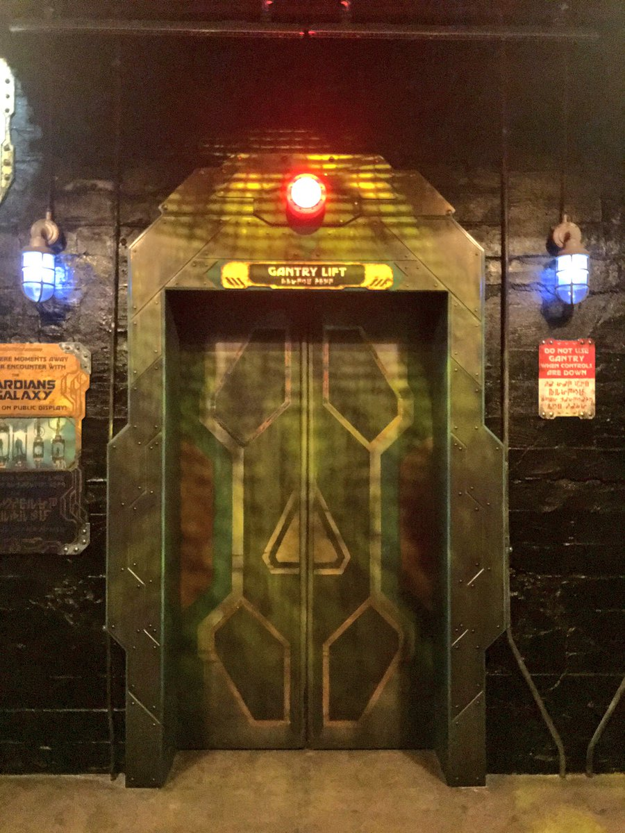 Guardians of the Galaxy: Mission BREAKOUT Elevator