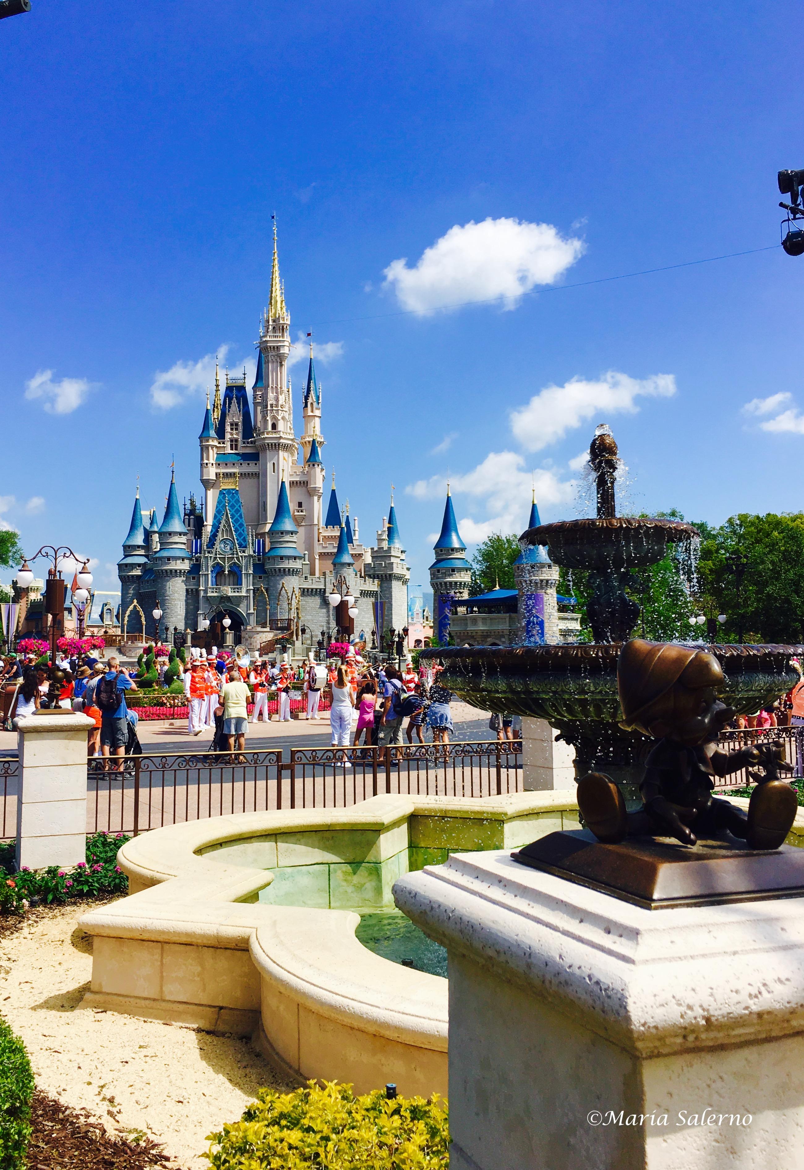 Disney castle tour