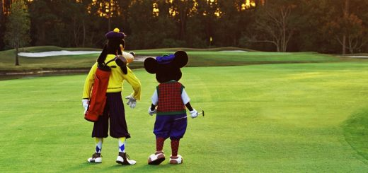 Golfing at Walt Disney World