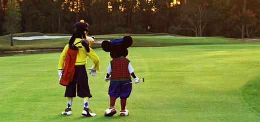 Golfing at Walt Disney World