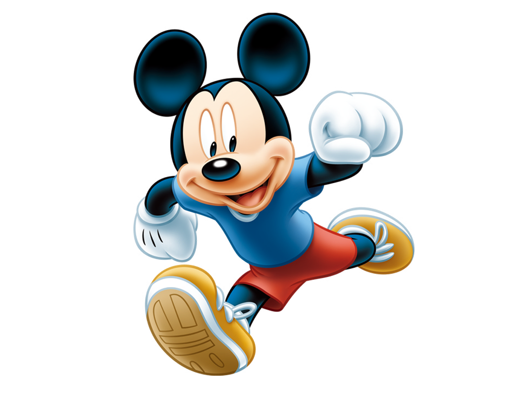 Mickey running
