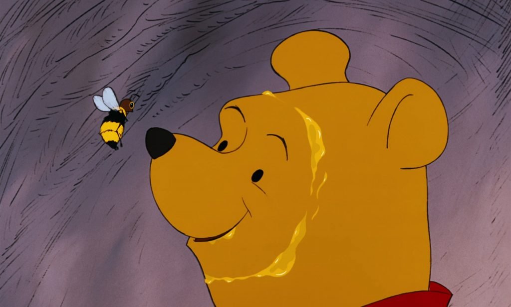 Pooh Honey Bee