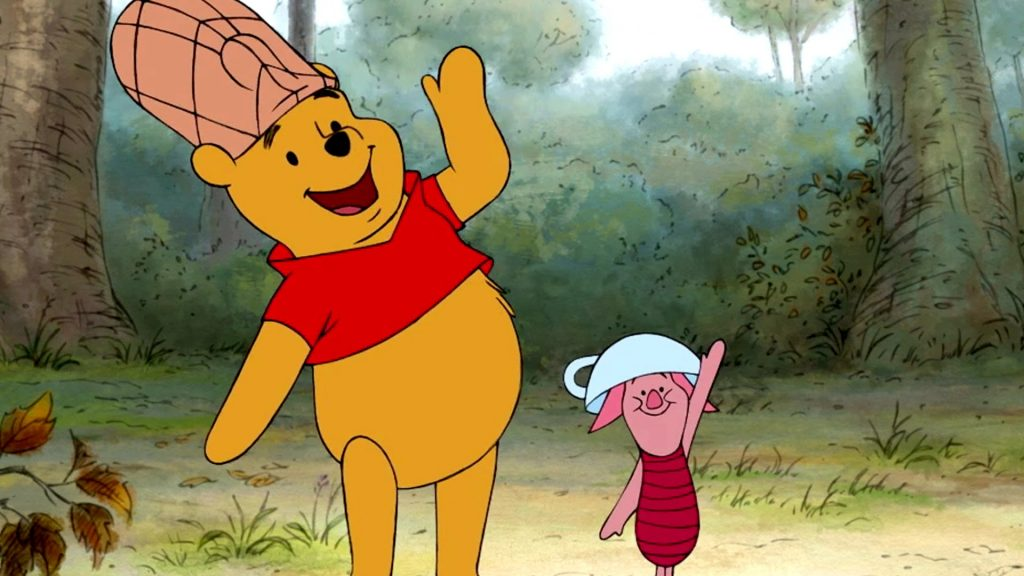 Pooh Piglet Honey Bee