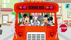 Disney School bus