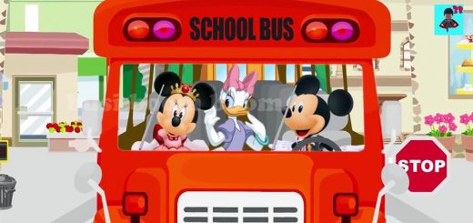 Disney School bus