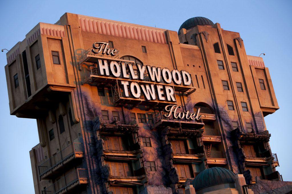 Tower of Terror Disneyland