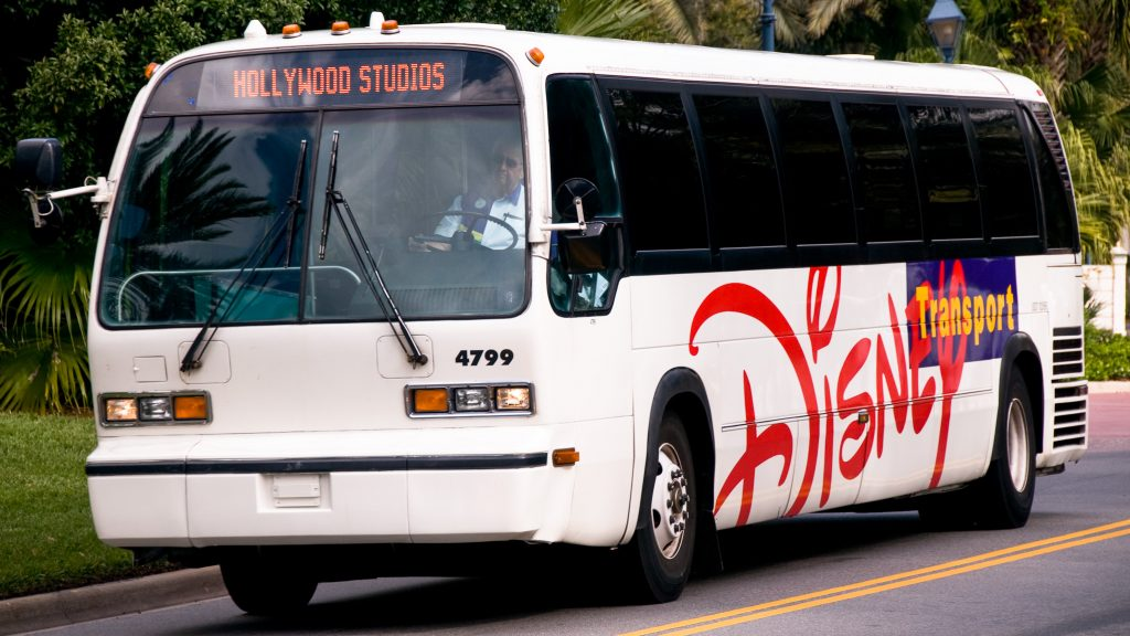 Disney buses