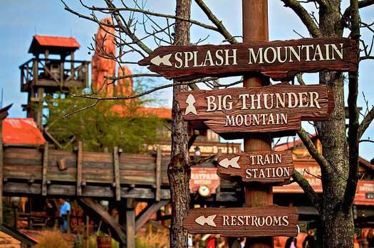 Splash Mountain Thunder Mountain