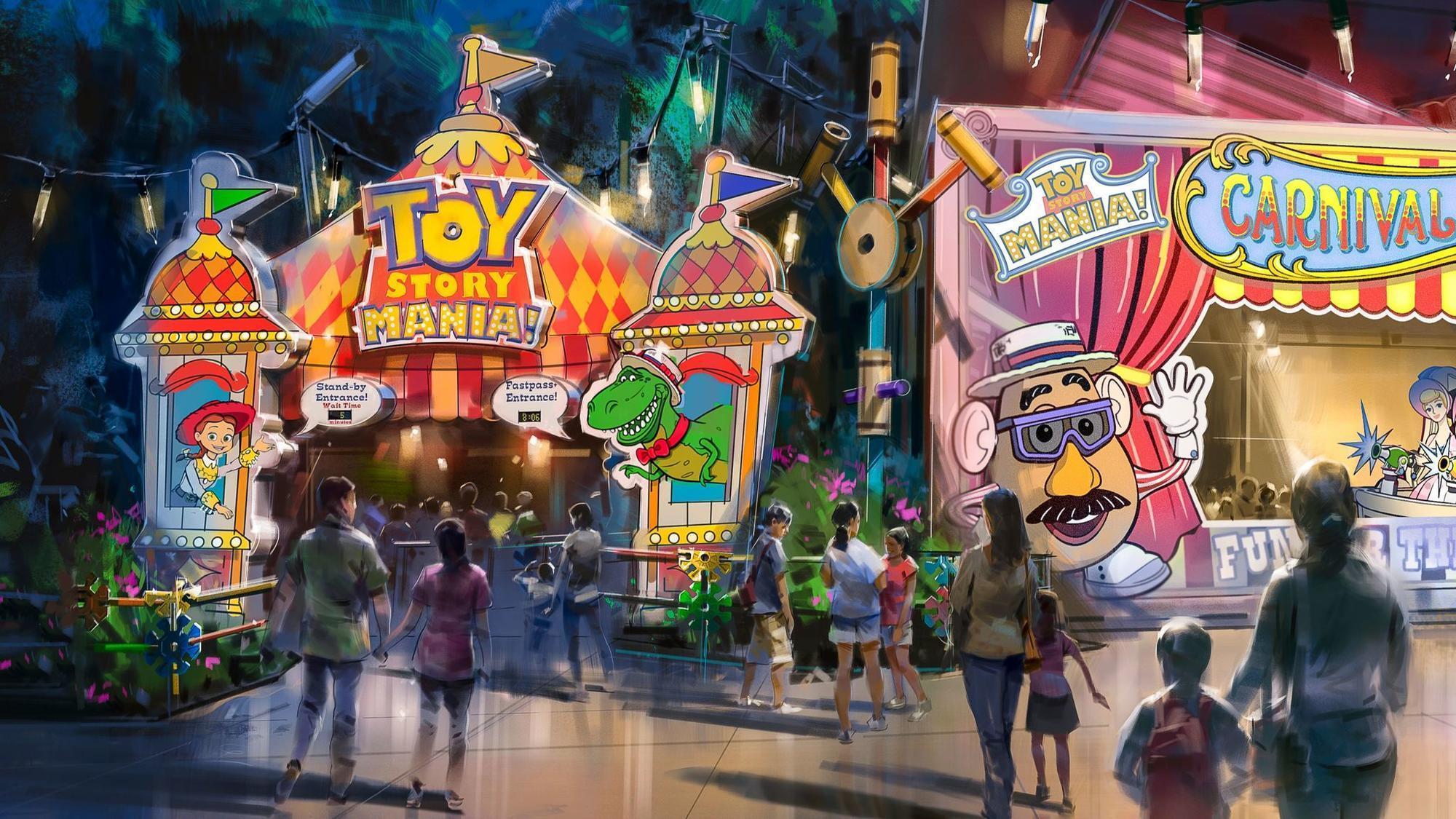 Walt Disney World vs Disneyland attractions