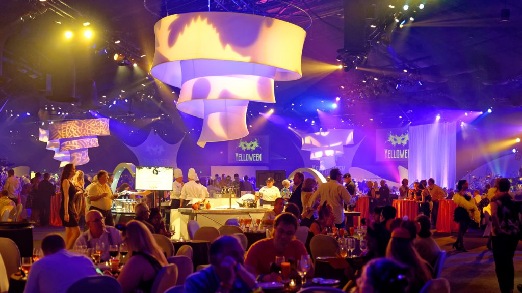 Food and Wine Party for the Senses