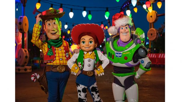 filming Walt Disney World Holiday Specials