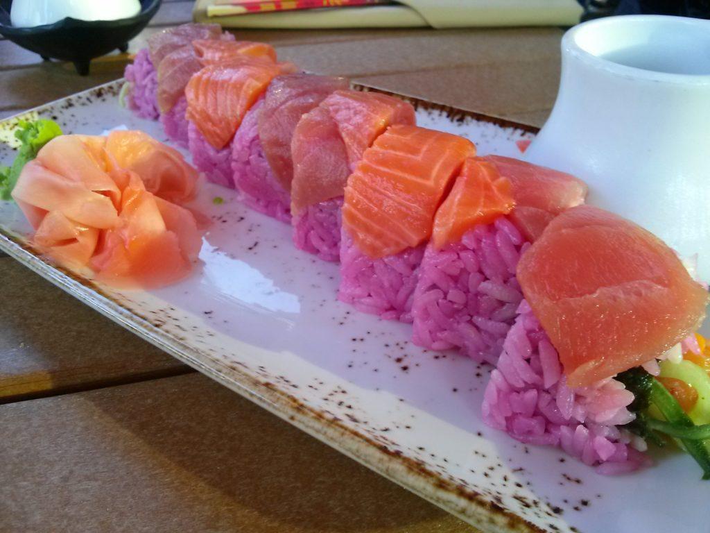Sushi at Disney