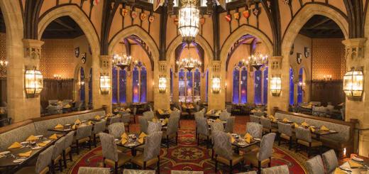 Disney table service restaurants