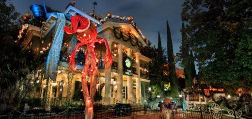 Disneyland Haunted Mansion Overlay